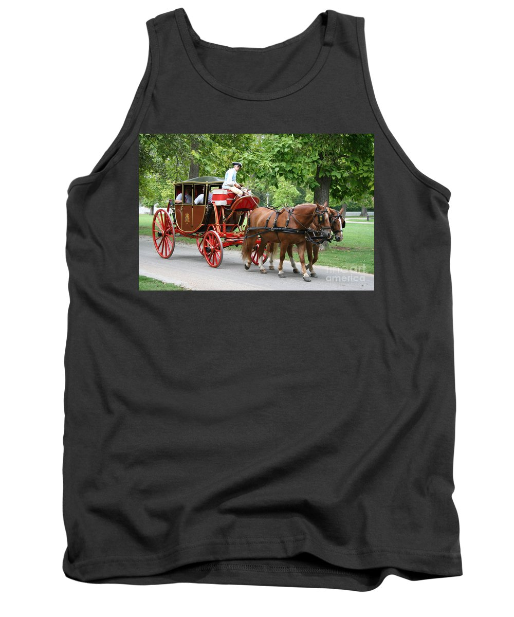 Carriage Tank Top featuring the photograph Carriage by Christiane Schulze Art And Photography