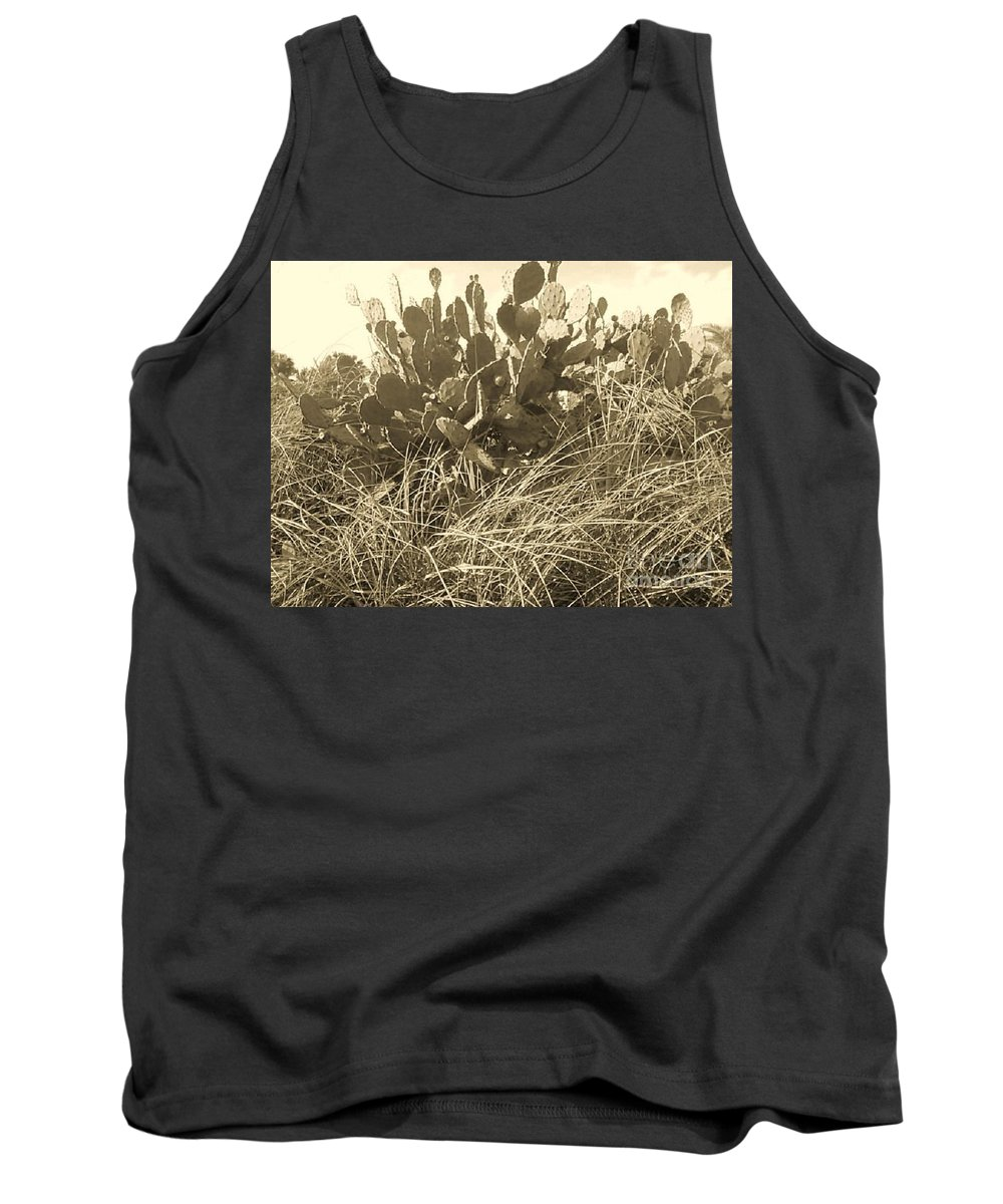 Catus Tank Top featuring the photograph Catus 3 by Michelle Powell