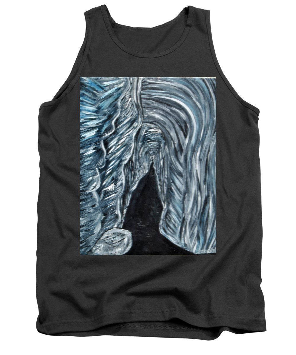 Tank Top featuring the painting Cave 2 by Suzanne Surber