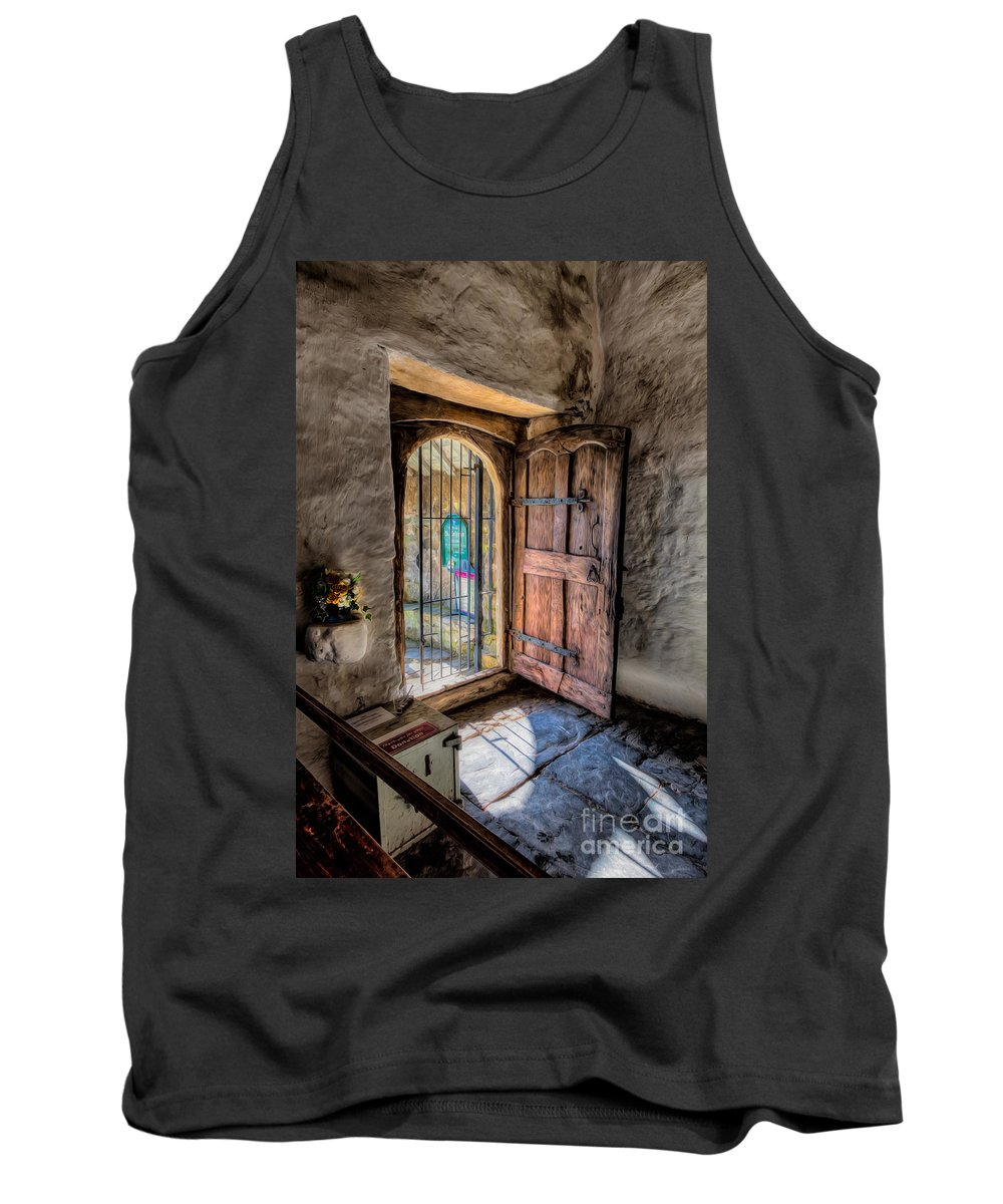 British Tank Top featuring the photograph Celynnin Entrance by Adrian Evans