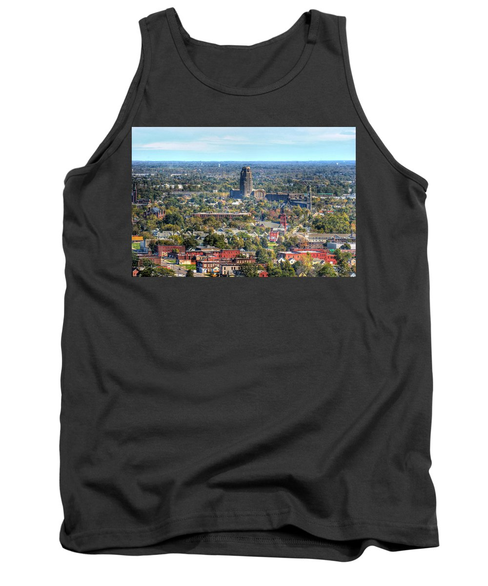 Central Terminal Tank Top featuring the photograph Central Terminal by Michael Frank Jr