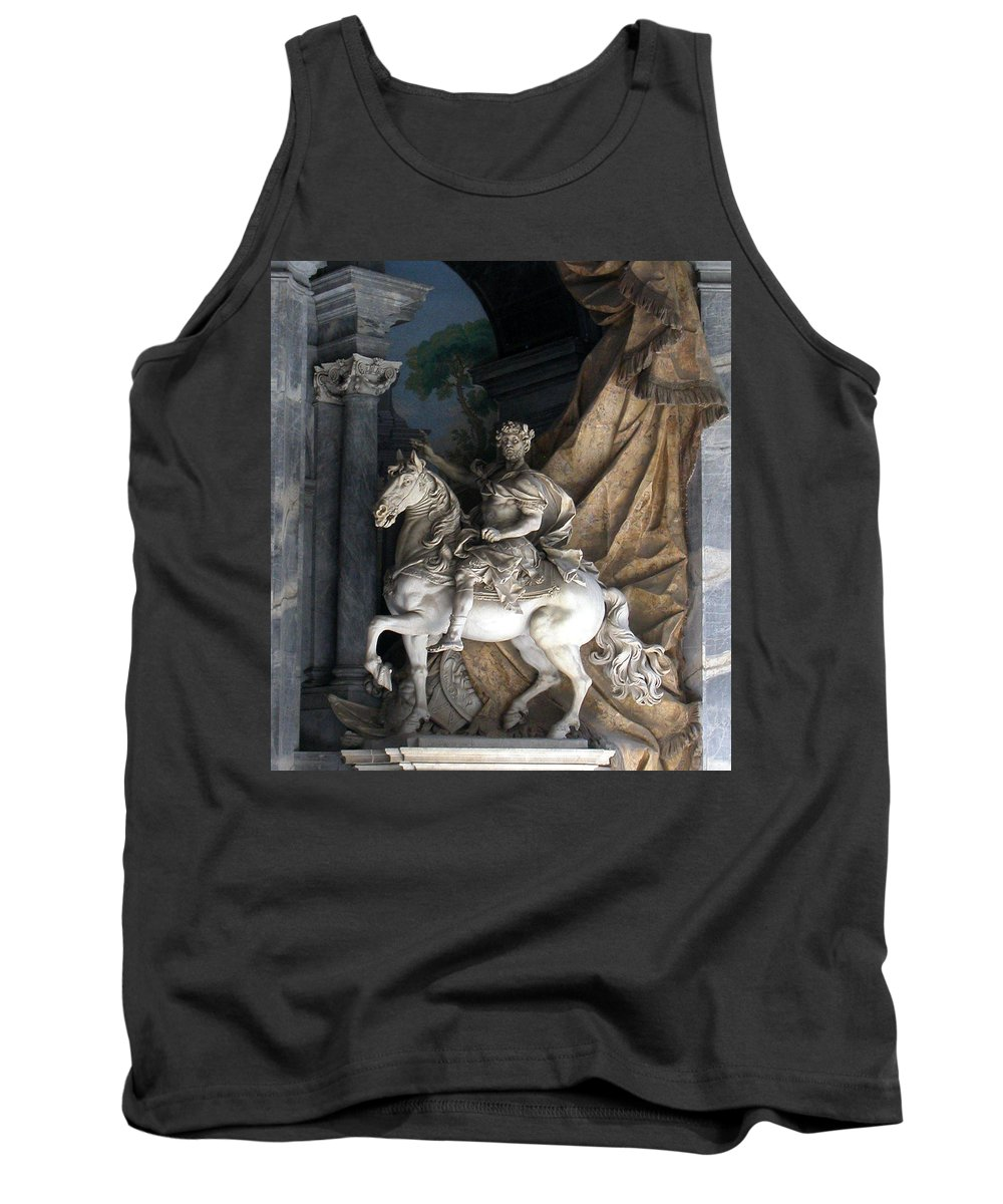Charlemagne Tank Top featuring the photograph Charlemagne by Michael Kirk