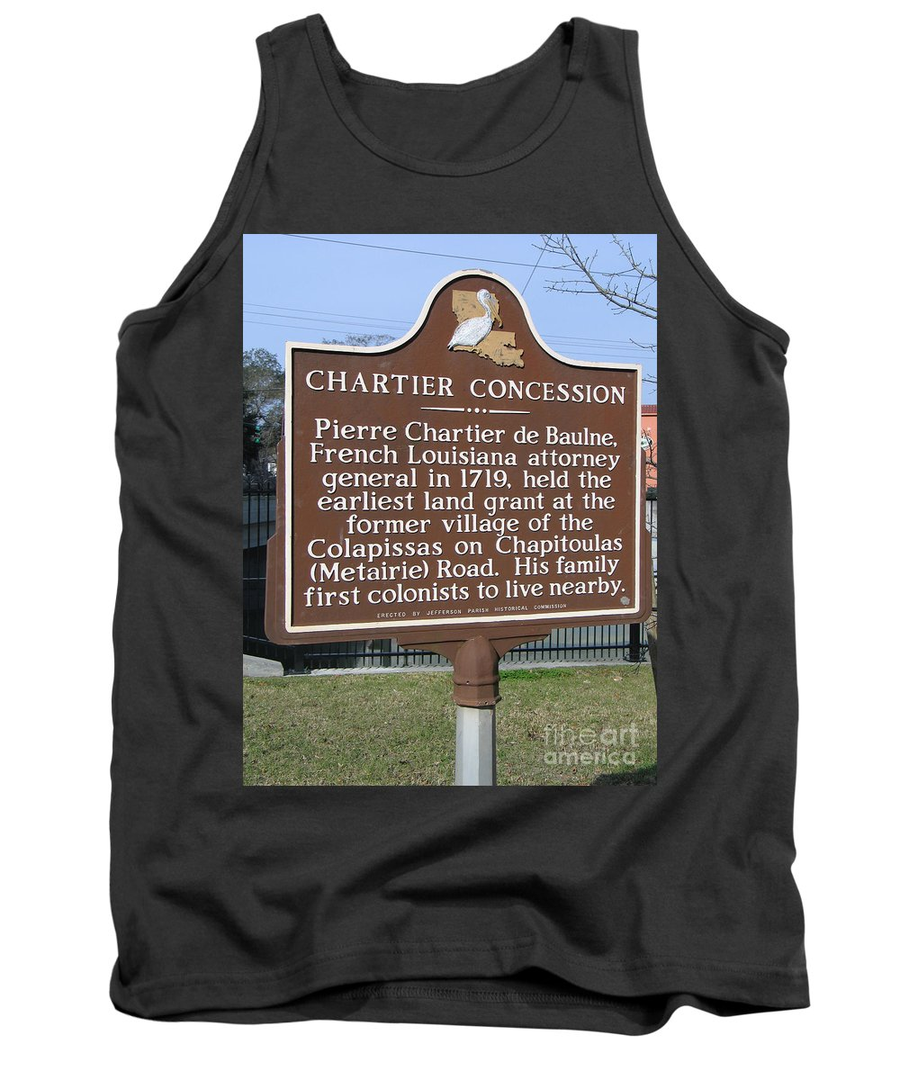 Chartier Concession Tank Top featuring the photograph Chartier Concession by Jason O Watson