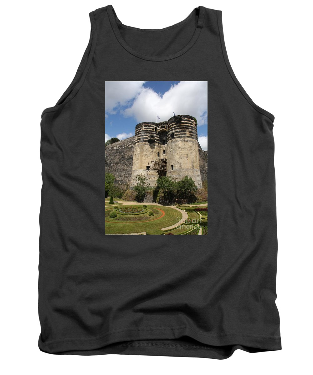 Castle Tank Top featuring the photograph Chateau D'angers - France by Christiane Schulze Art And Photography