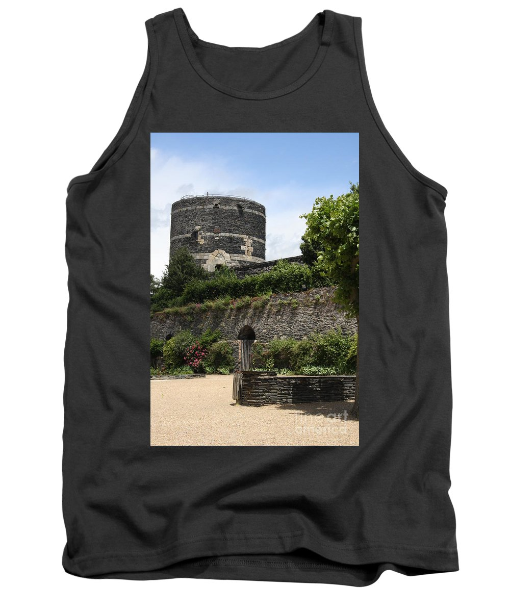 Castle Tank Top featuring the photograph Chateau D'angers Tower by Christiane Schulze Art And Photography