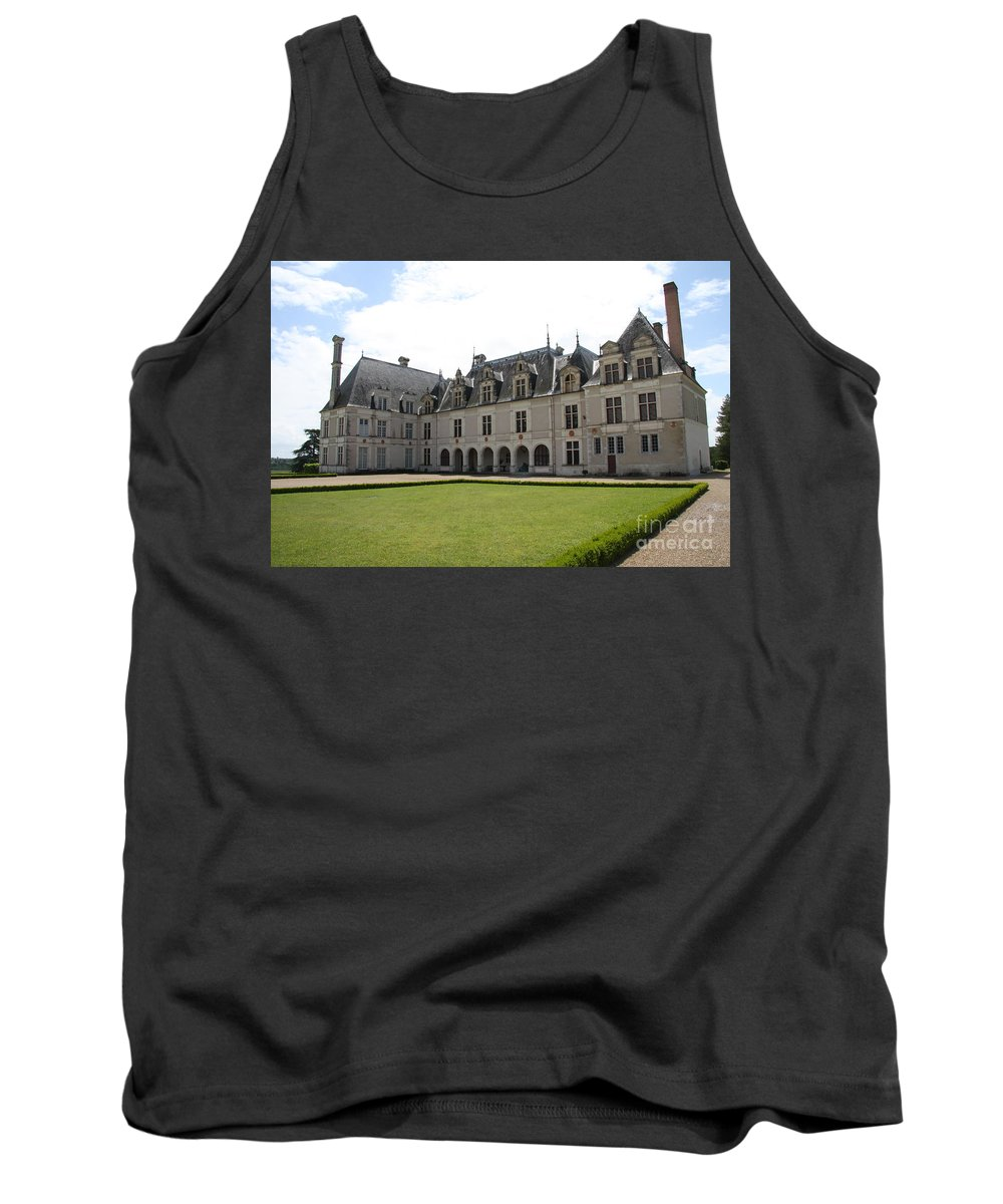 Palace Tank Top featuring the photograph Chateau De Beauregard Loire Valley by Christiane Schulze Art And Photography