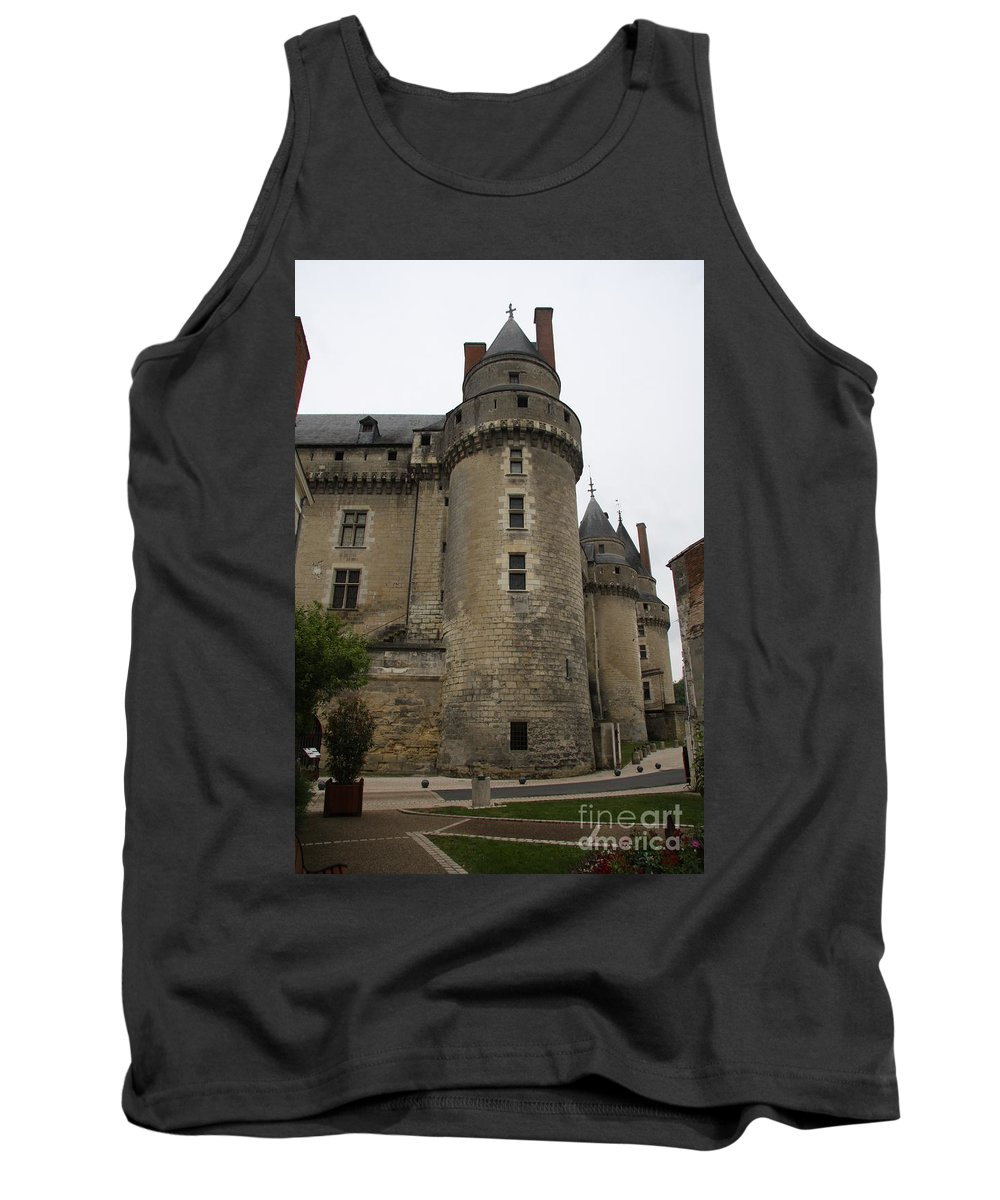 Castle Tank Top featuring the photograph Chateau De Langeais - France by Christiane Schulze Art And Photography