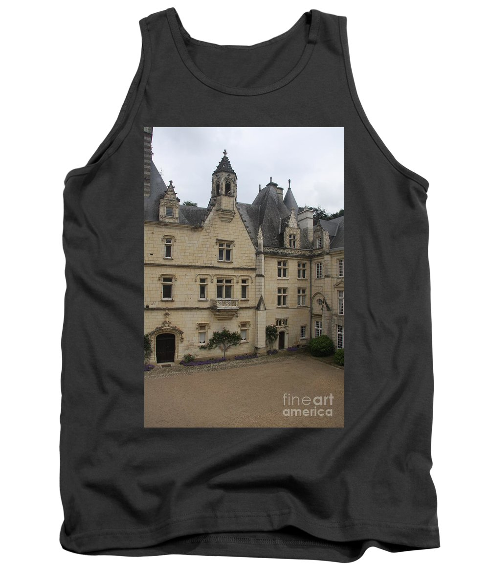 Palace Tank Top featuring the photograph Chateau D'usse by Christiane Schulze Art And Photography
