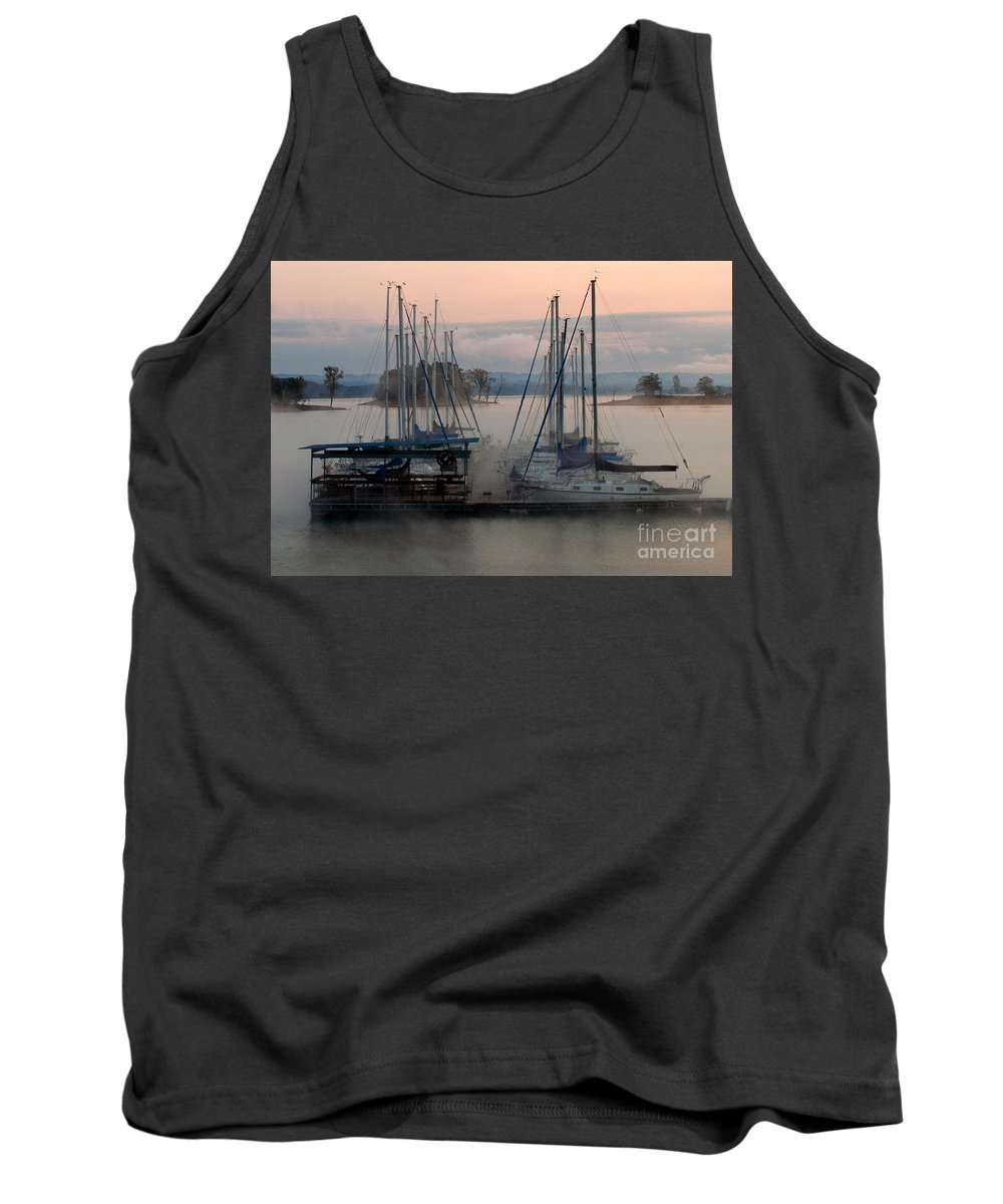 Tank Top featuring the photograph Cherokee Lake by Douglas Stucky
