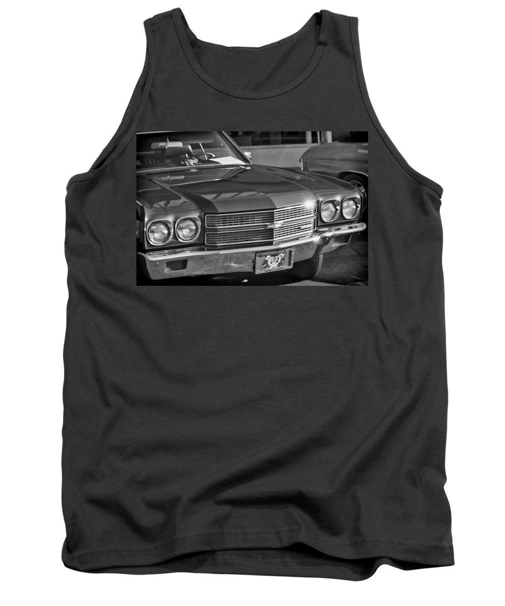 Car Show Tank Top featuring the photograph Chevelle by Cathy Anderson