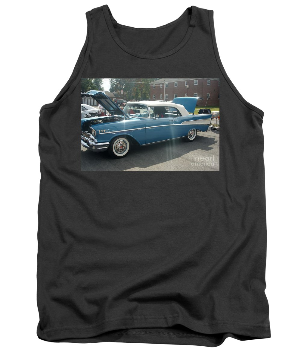 Classic Tank Top featuring the photograph Chevy Belair by Rob Luzier