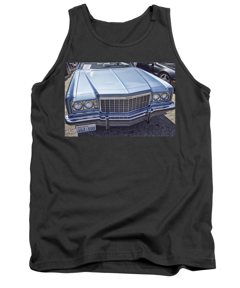 Tank Top featuring the photograph Chevy Caprice by Cathy Anderson