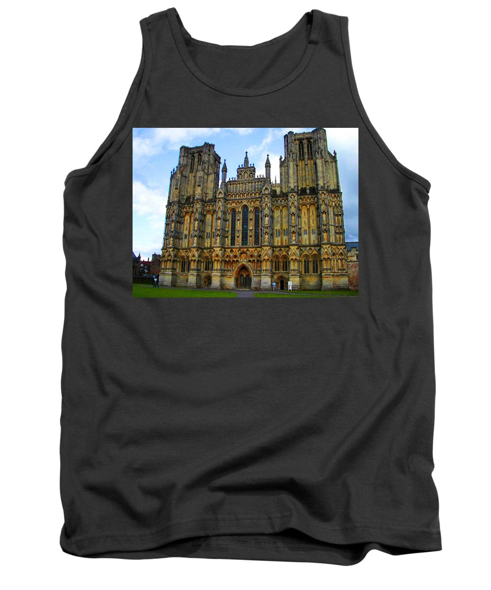 Expressive Tank Top featuring the photograph Church Of England by Lenore Senior