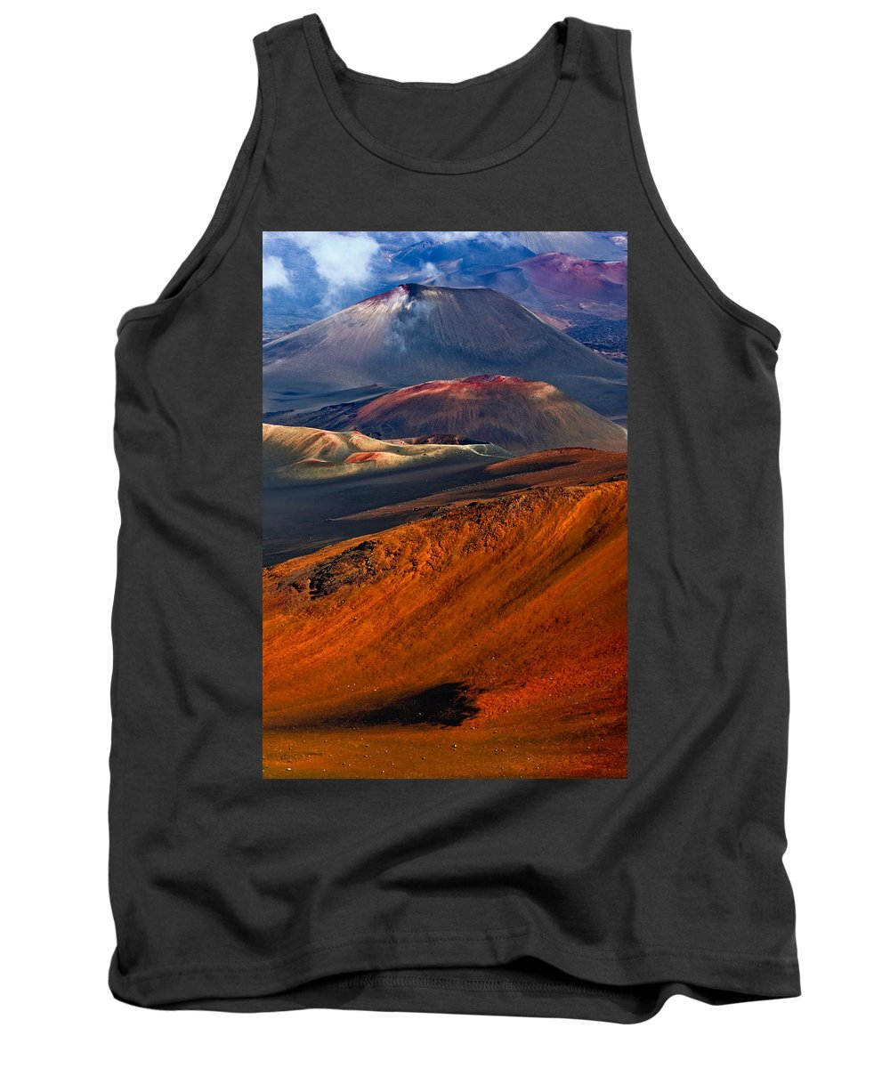 Maui Tank Top featuring the photograph Cinder Cones In Haleakala by Nature Photographer