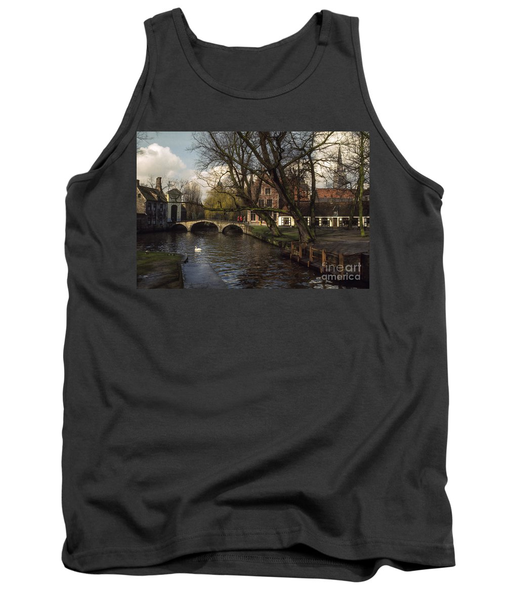 Bruges Tank Top featuring the photograph City Stroll by Bob Phillips