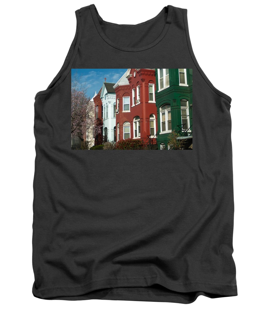 Ancient Tank Top featuring the photograph Classic American Architecture In Washington Dc by Alex Grichenko