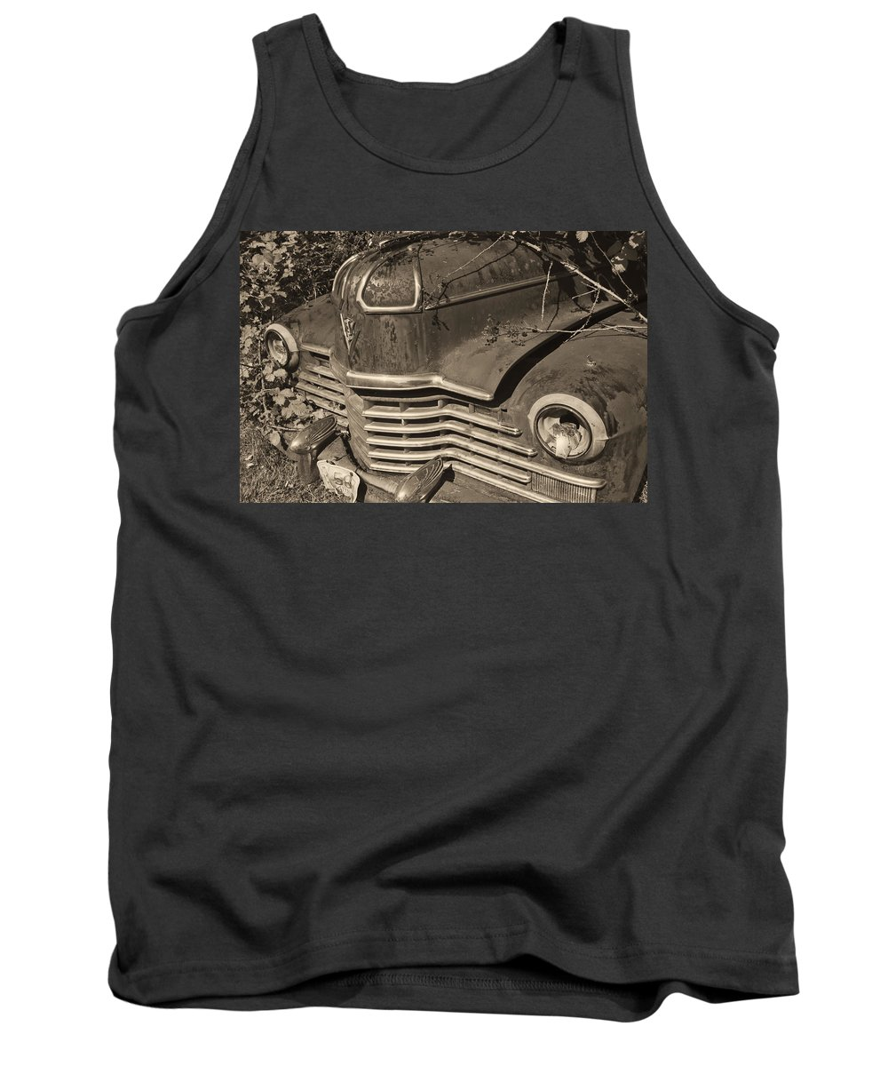 Tank Top featuring the photograph Classic Rust by Cathy Anderson