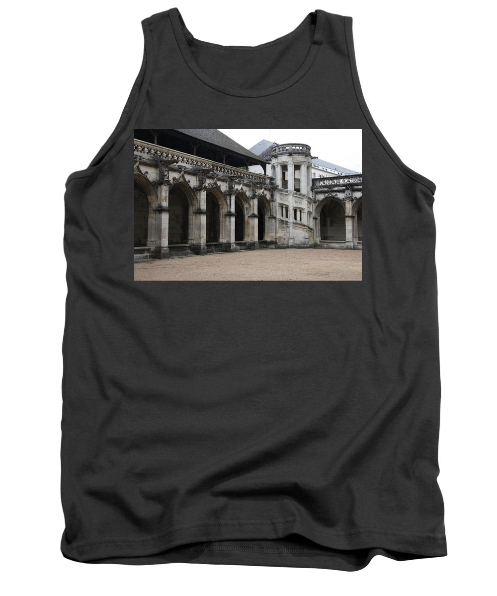 Cloister Tank Top featuring the photograph Cloister And Staircase Cathedral Tours by Christiane Schulze Art And Photography