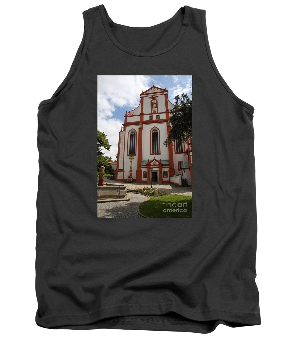 Cloister Tank Top featuring the photograph Cloister - St. Marienstern by Christiane Schulze Art And Photography