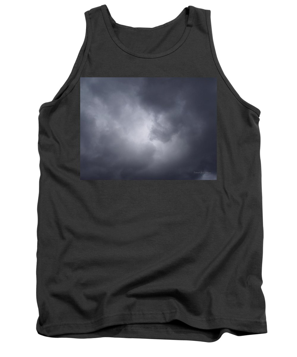Clouds Tank Top featuring the photograph Cloud Energy by Deborah Crew-Johnson