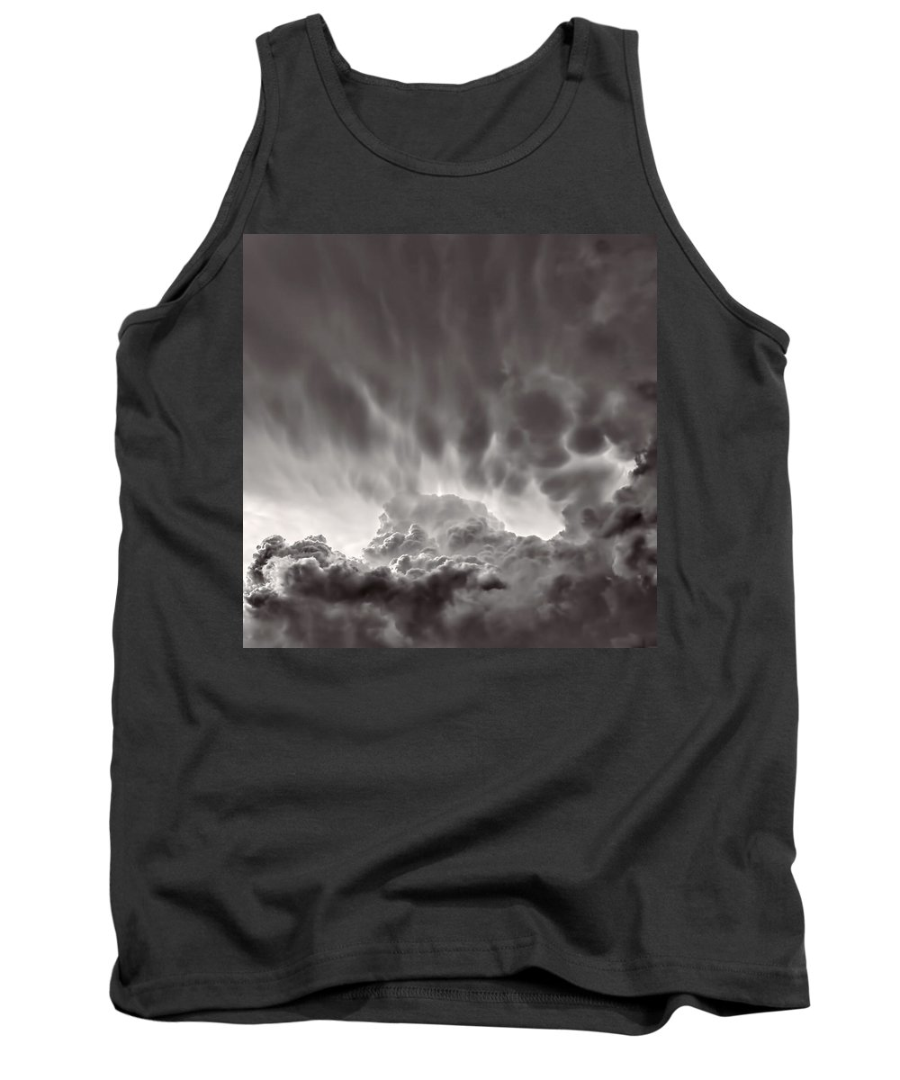 Clouds Tank Top featuring the photograph Cloud Study 1382 by Brian King