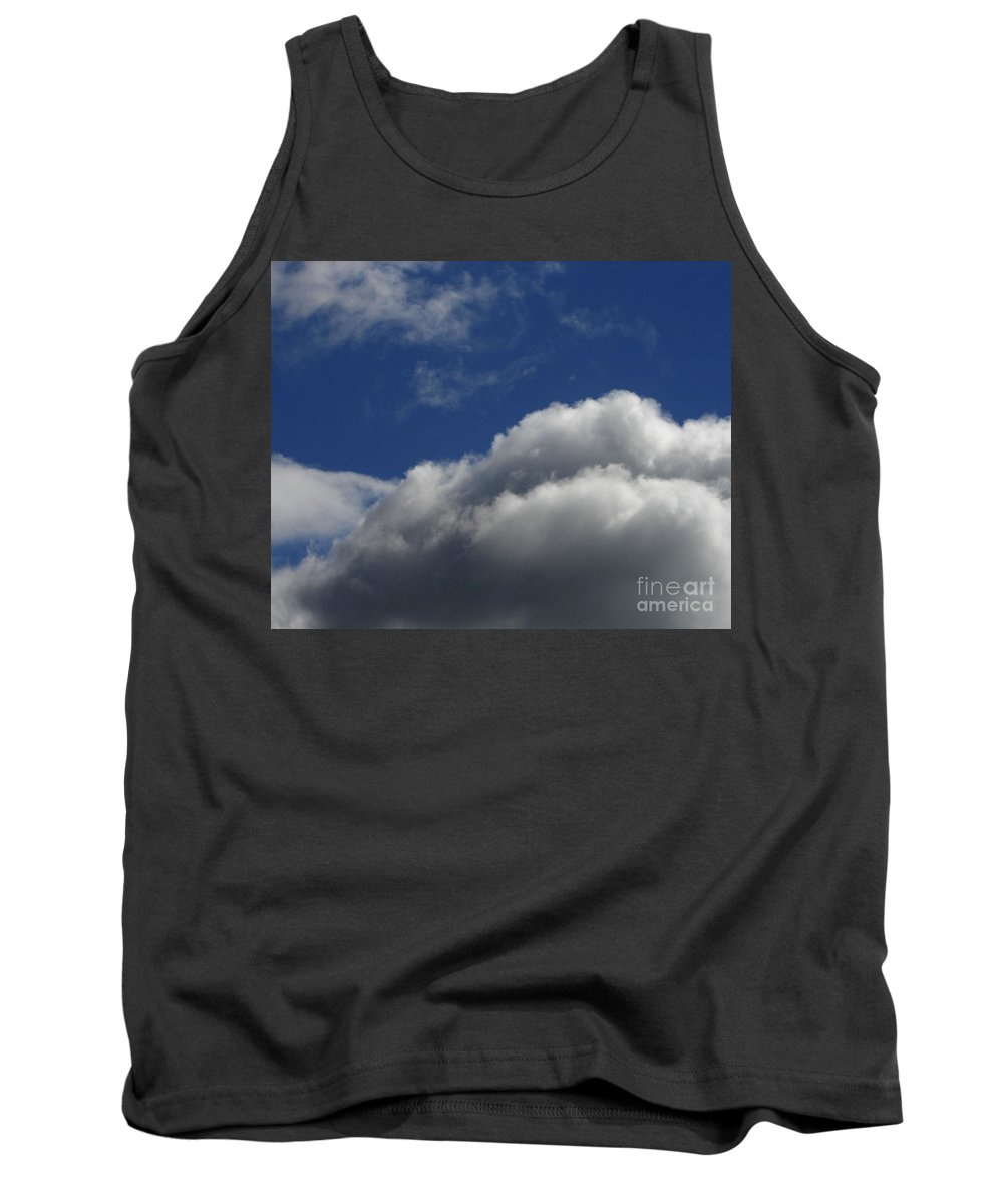 Clouds Tank Top featuring the photograph Clouds by Carol Lynch