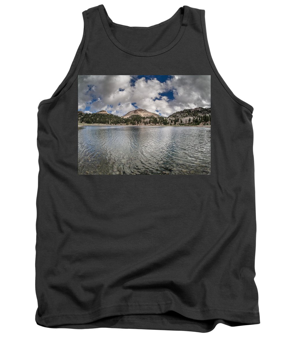 California Tank Top featuring the photograph Clouds Form Over Lake Helen by Greg Nyquist