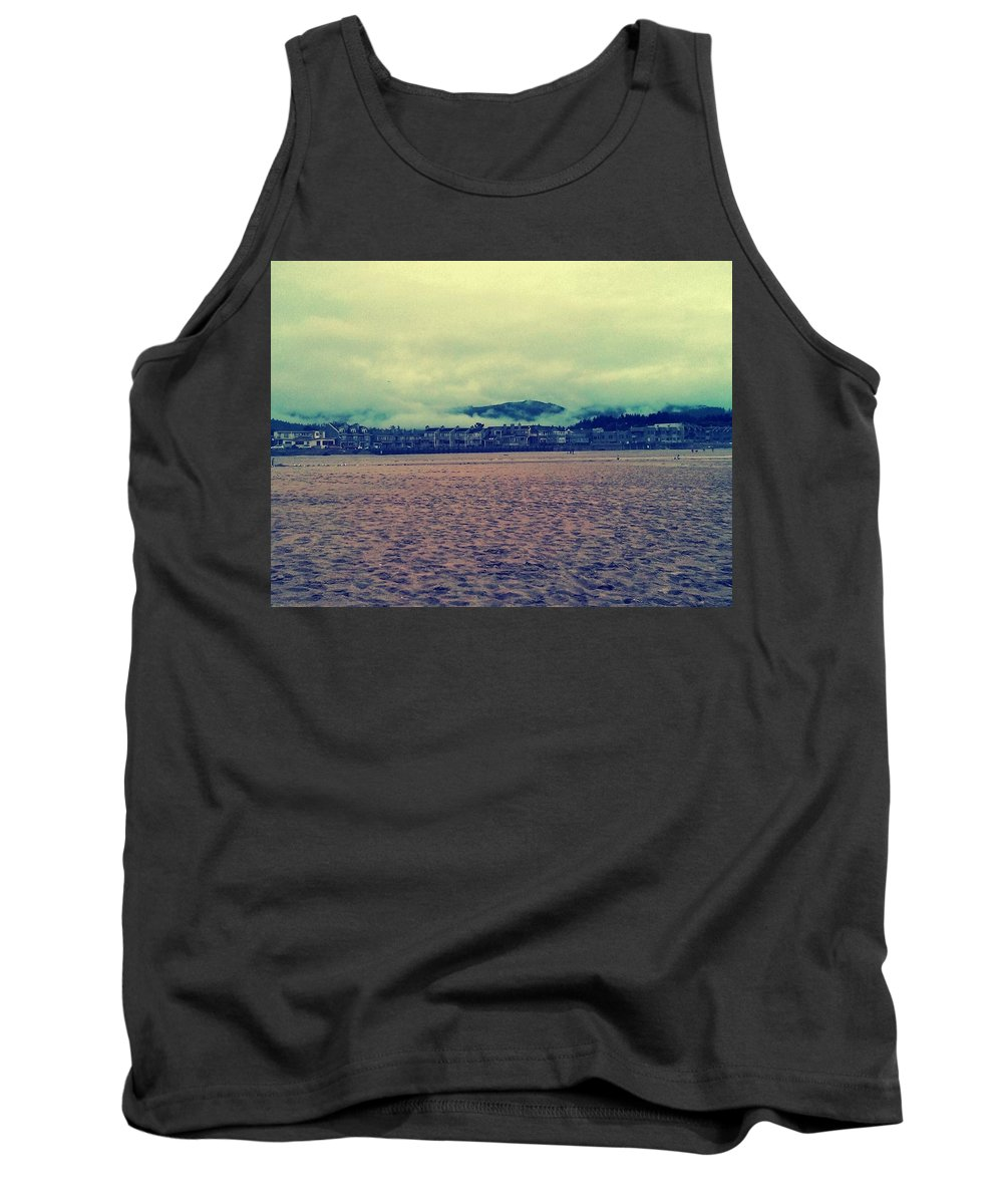 Oregon Tank Top featuring the photograph Coastal Living by Barbara Christensen