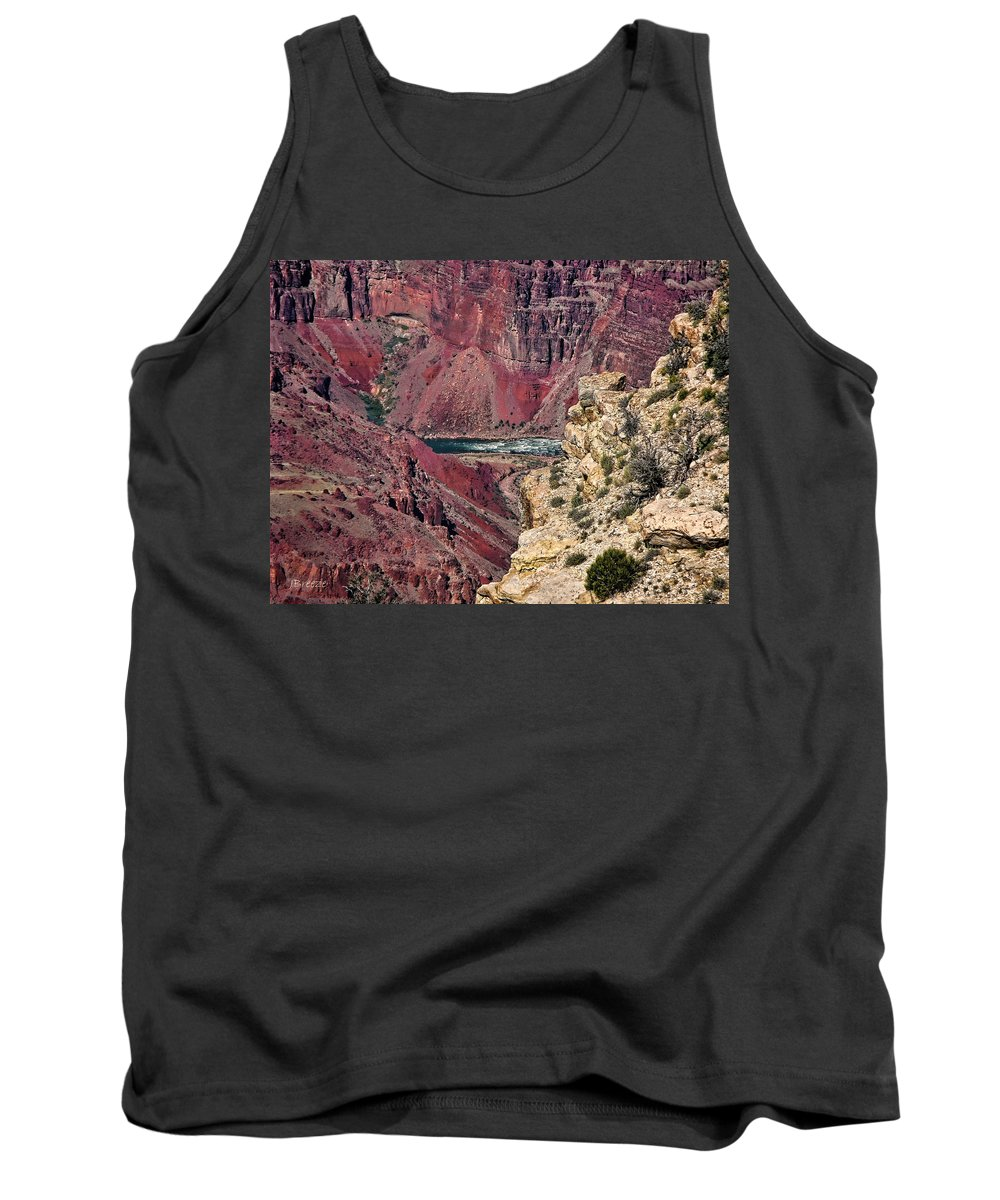 Az Tank Top featuring the photograph Colorado River In Grand Canyon by Jennie Breeze