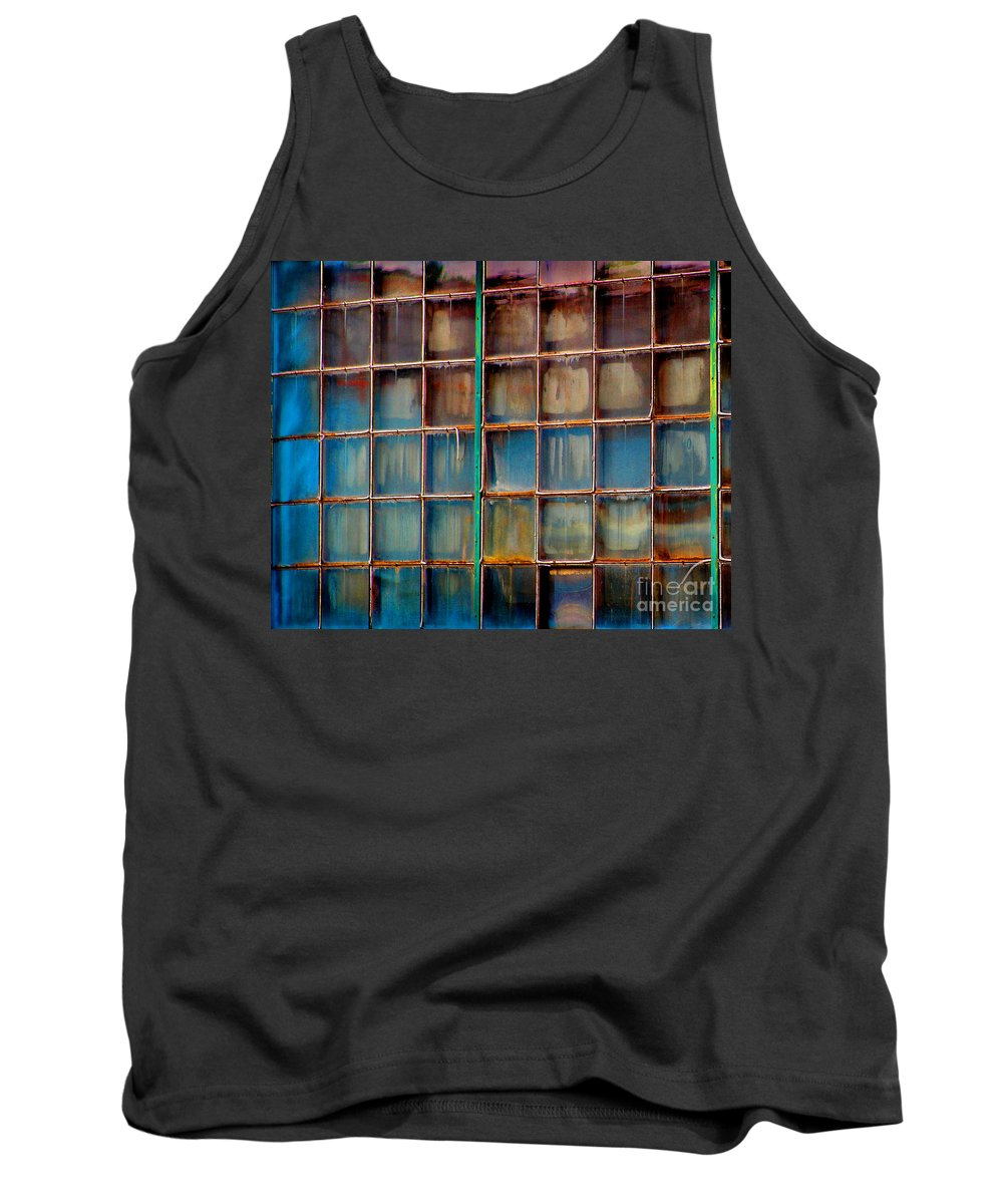 Building Tank Top featuring the photograph Colorful Windows by Karen Adams