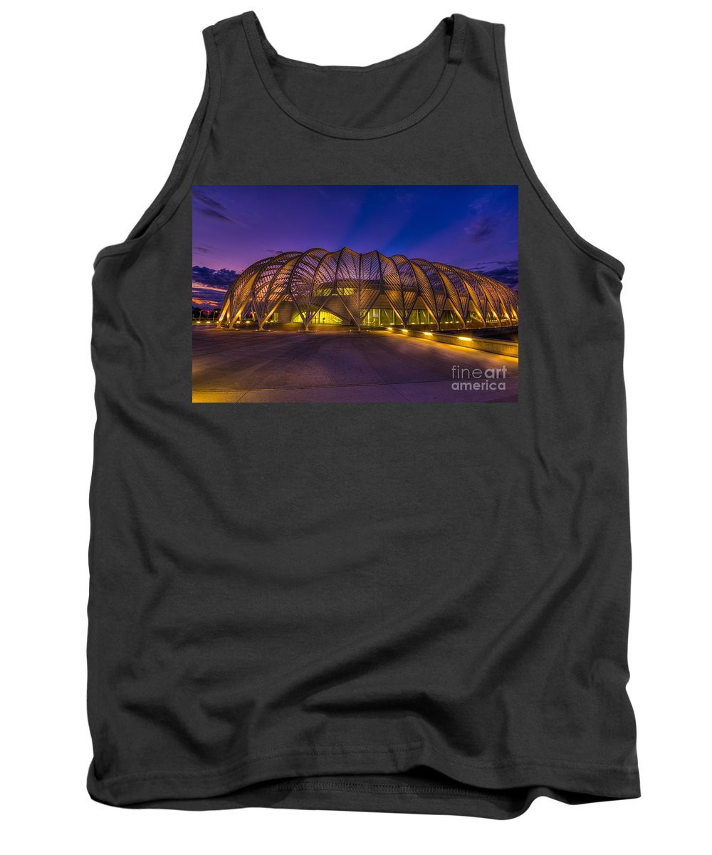 Florida Polytechnic University Tank Top featuring the photograph Committed To Learning by Marvin Spates