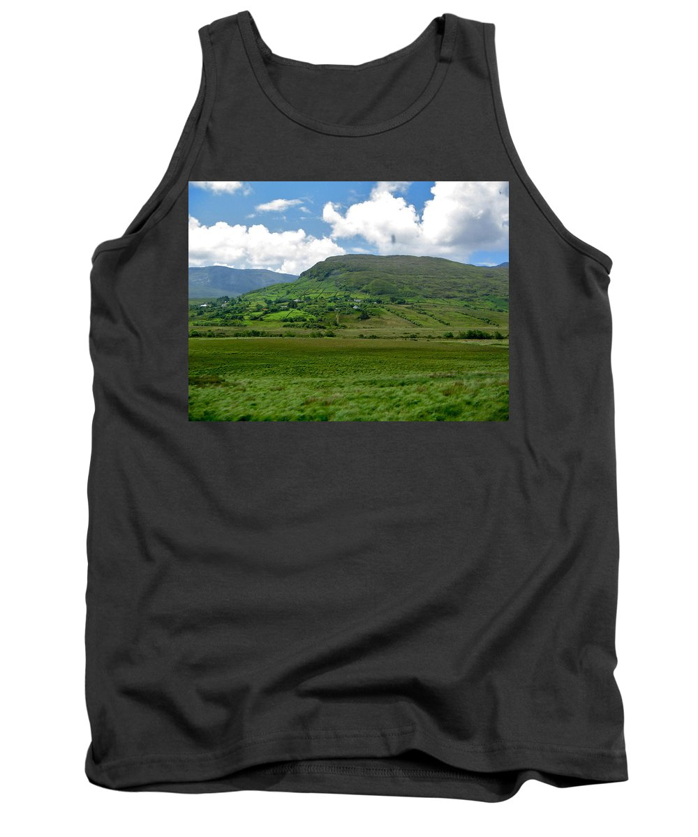 Connemara Tank Top featuring the photograph Connemara by Denise Mazzocco