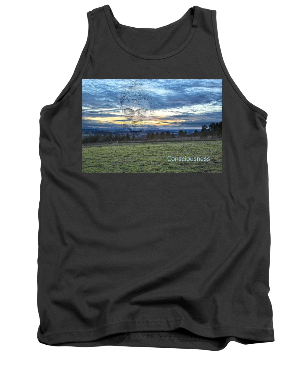 Buddha Tank Top featuring the photograph Consciousness by Belinda Greb