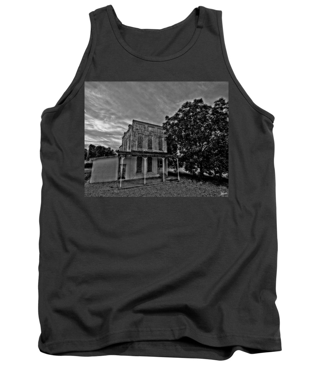 Cotton Tank Top featuring the photograph Cotton Office by David Zarecor