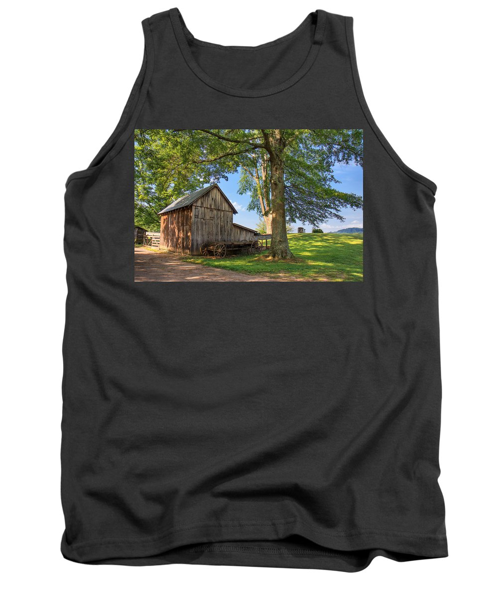 Jackson's Mill Tank Top featuring the photograph Country Farm by Mary Almond