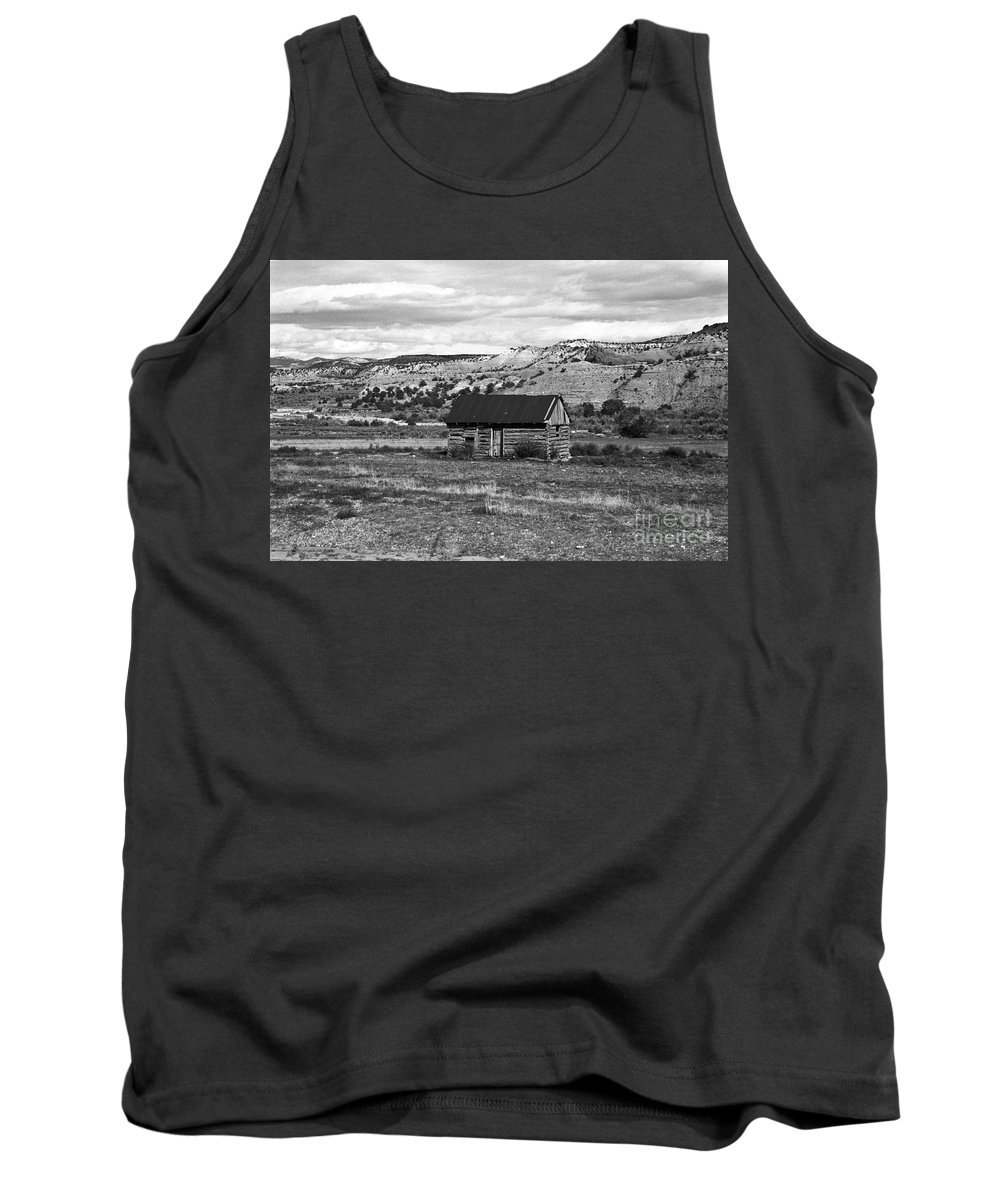 Utah Tank Top featuring the photograph Courage by Kathy McClure