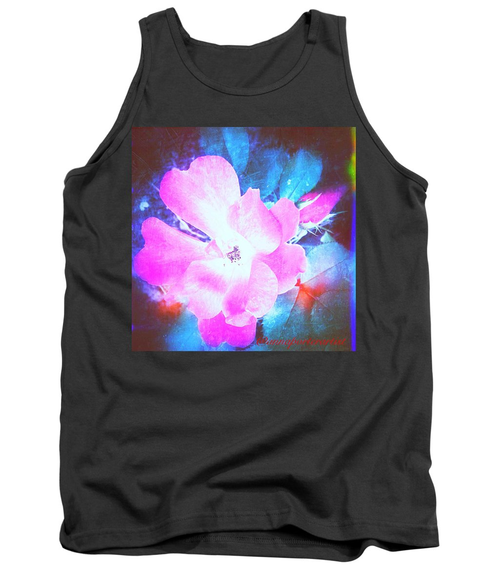 Flower Tank Top featuring the photograph Creative Energies by Anna Porter