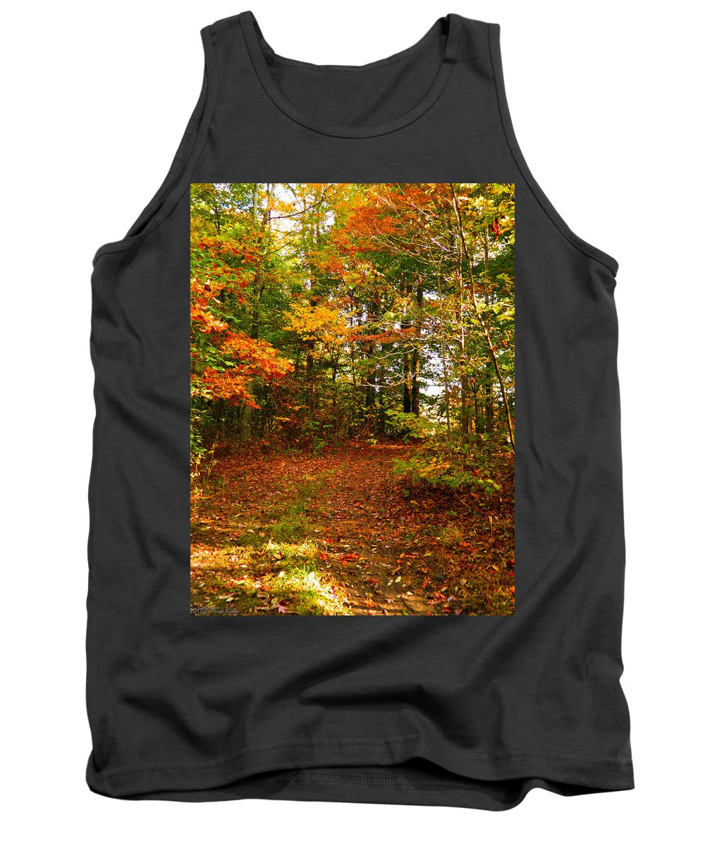 Trees Tank Top featuring the photograph Curve Ahead by Nick Kirby