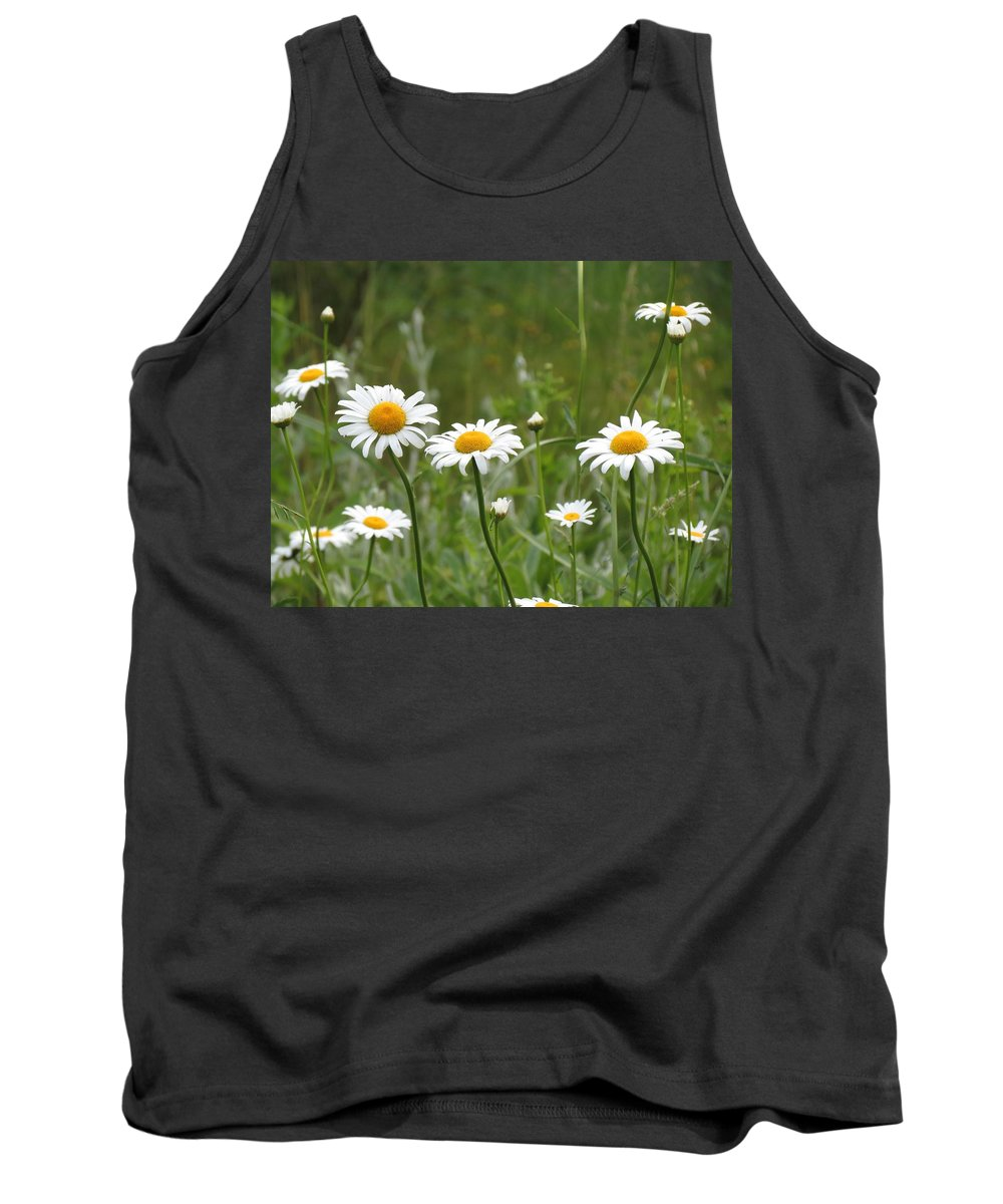 Daisies Tank Top featuring the photograph Daisies by MTBobbins Photography