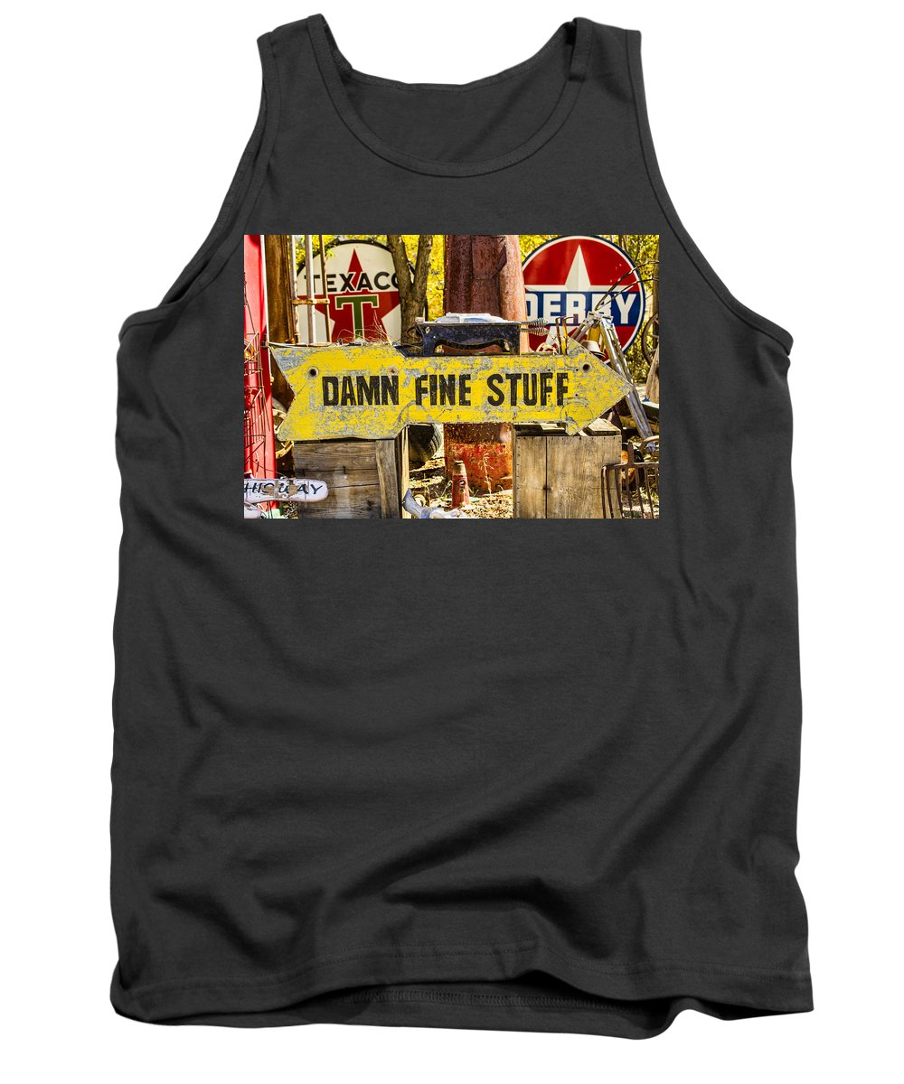 Southwest Tank Top featuring the photograph Damn Fine Stuff by Brian King