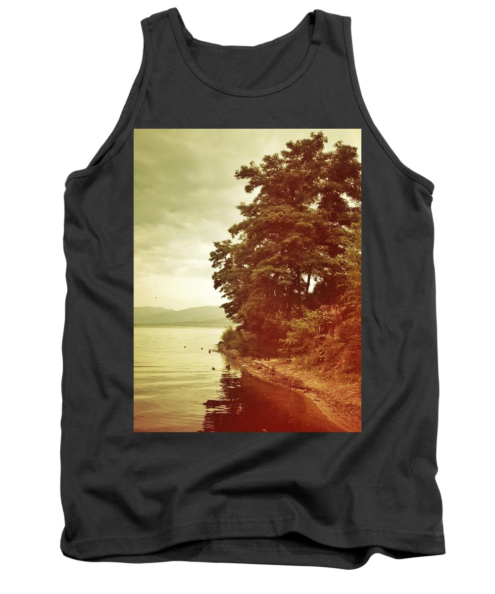Tank Top featuring the photograph Dancing Tree by The Artist Project