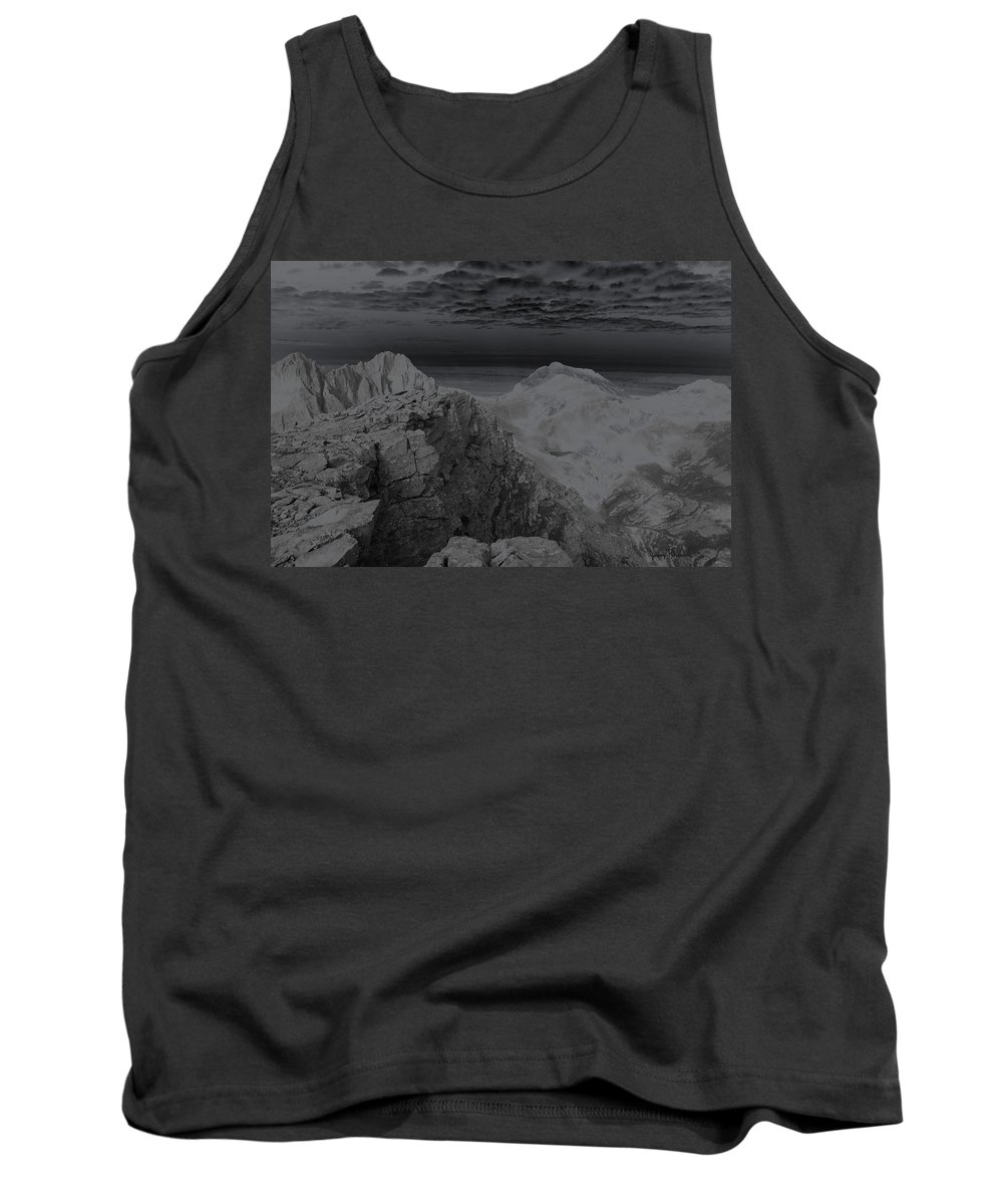 Landscapes Tank Top featuring the photograph Dark Planet by Jeremy Rhoades