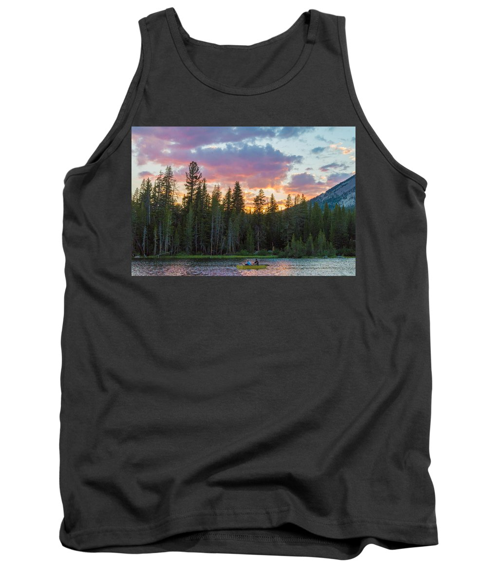 Last Tank Top featuring the photograph Day's Last Light by Lynn Bauer