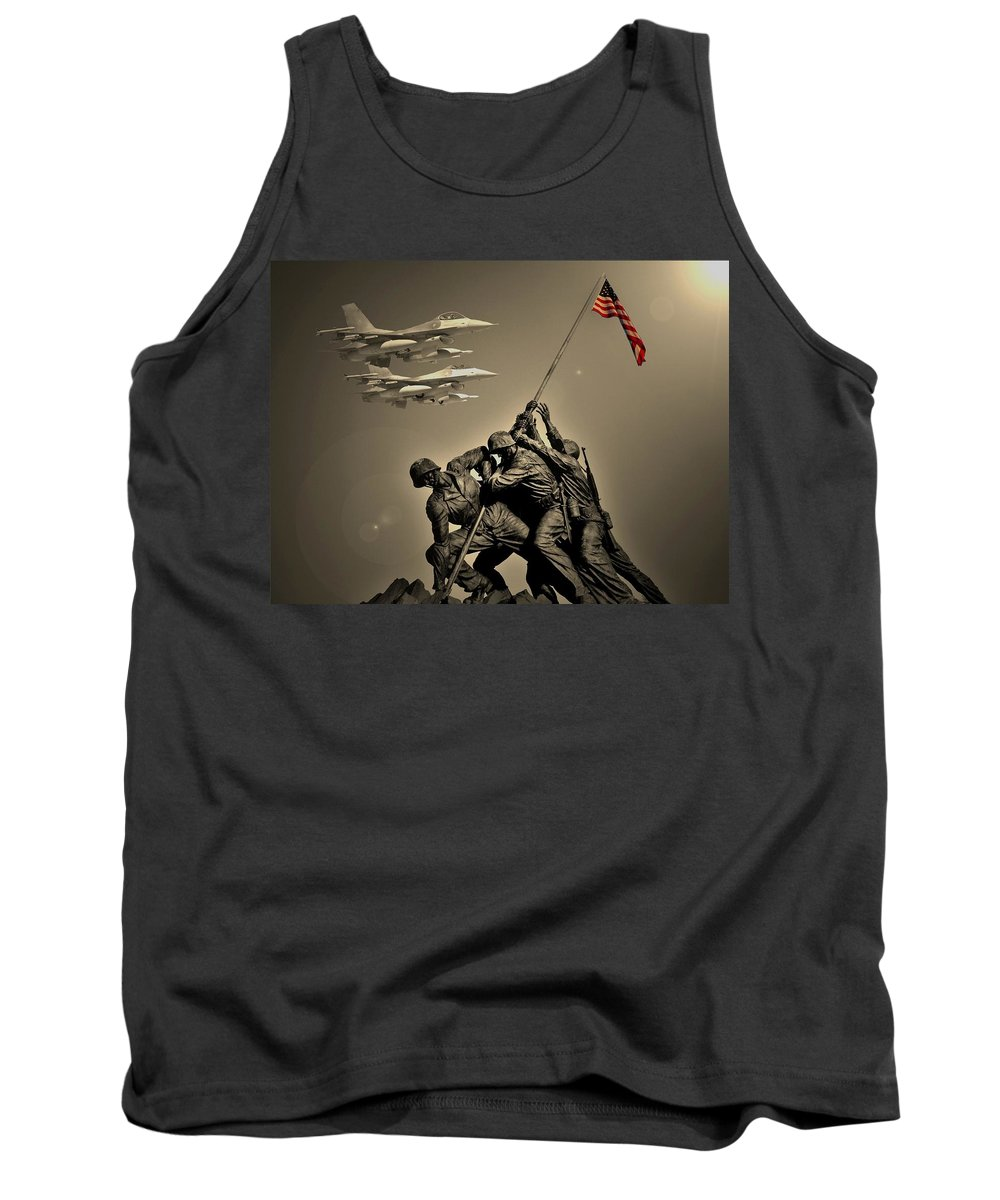 Jets Tank Top featuring the photograph Dec 28th 2011 by Bob Geary