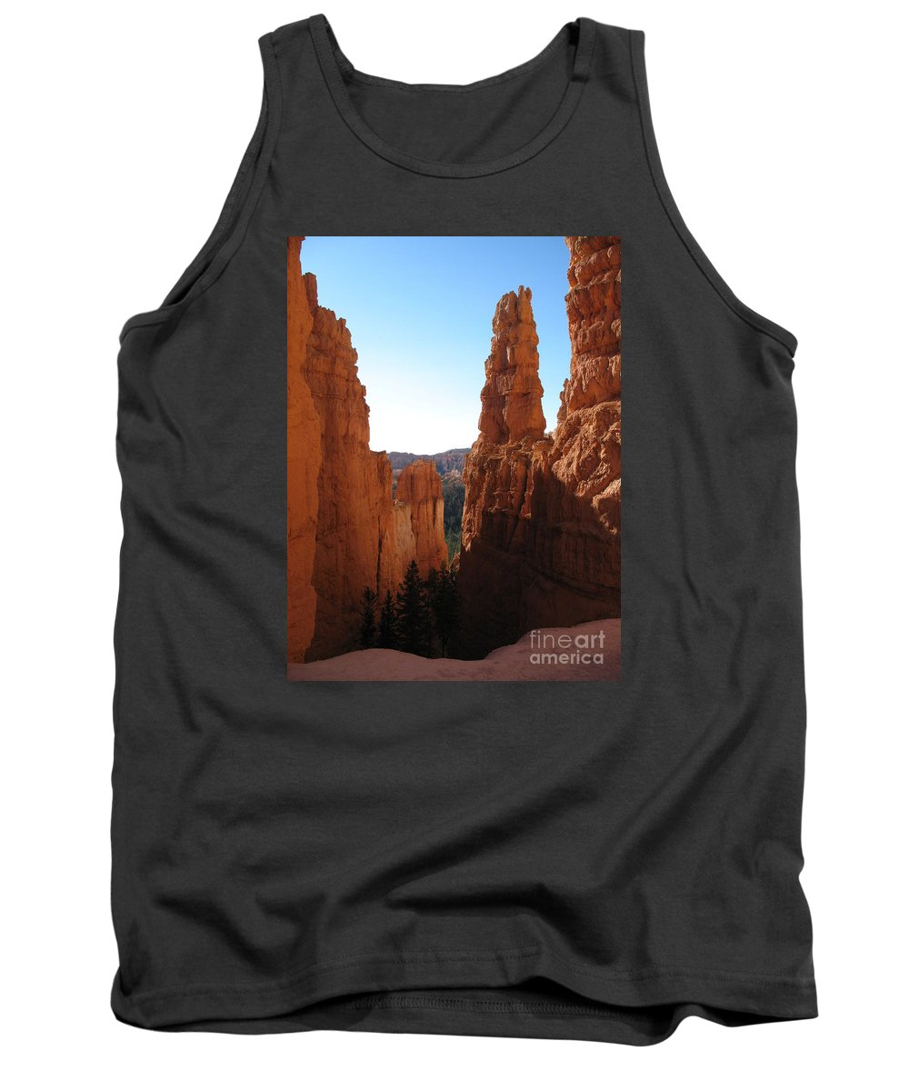 Canyon Tank Top featuring the photograph Deep Down - Bryce Canyon by Christiane Schulze Art And Photography