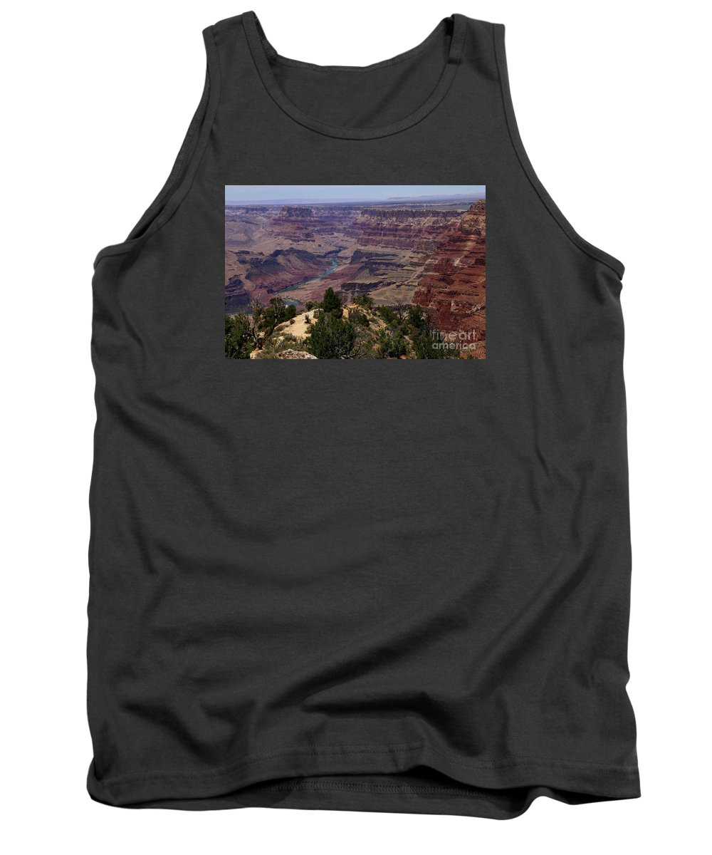 Canyon Tank Top featuring the photograph Desert View Grand Canyon by Christiane Schulze Art And Photography