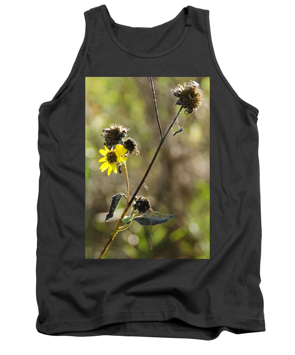 Flower Tank Top featuring the photograph Determined by  Eyauuk
