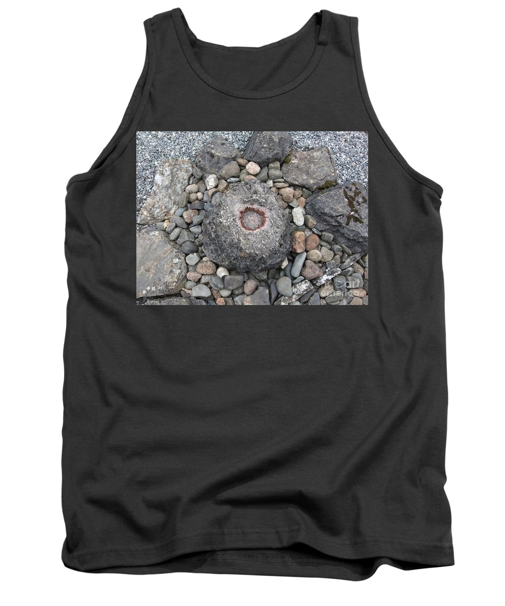 Uk Tank Top featuring the photograph Devon Dartington Hall Stones by Coventry Wildeheart