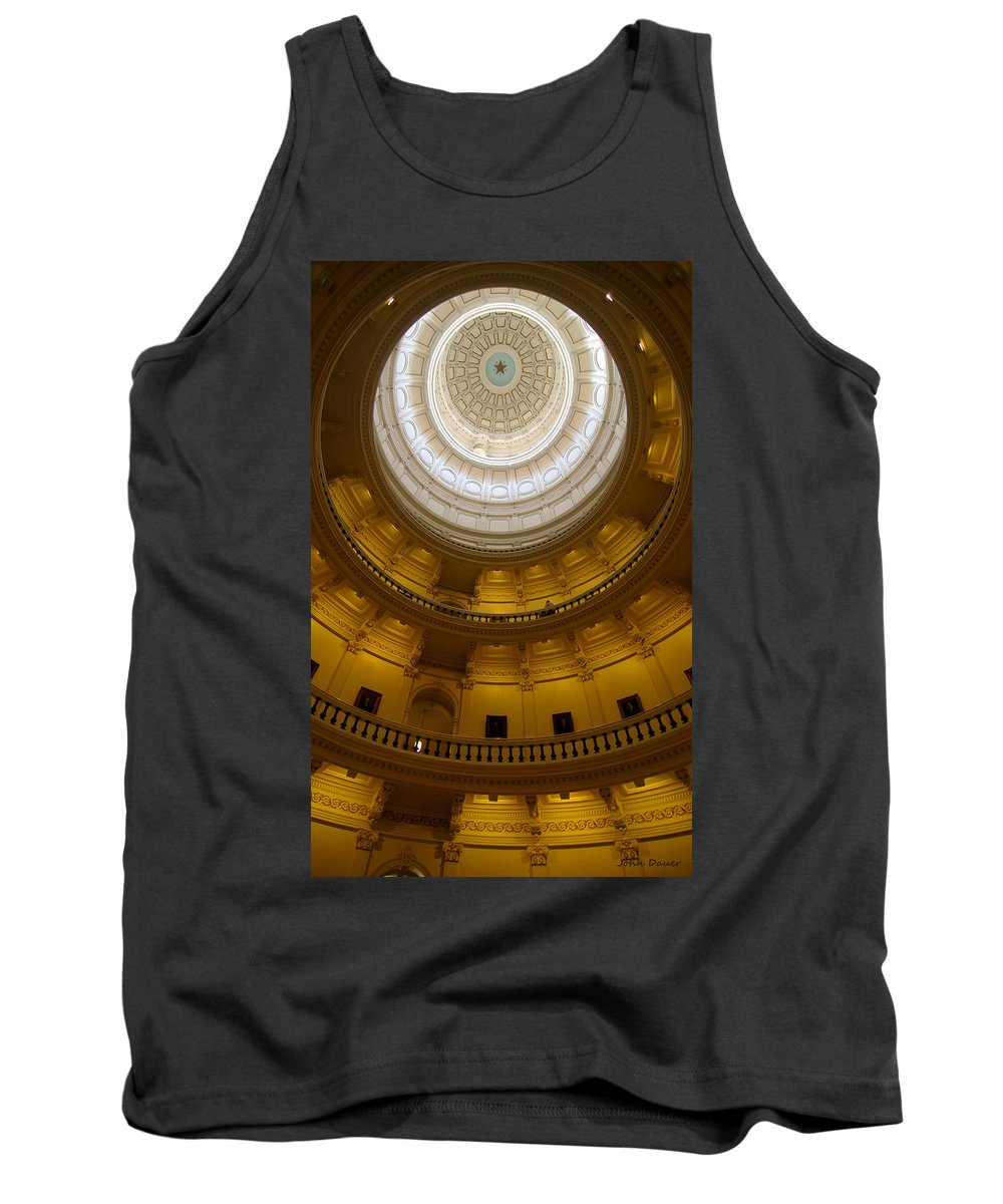 Dome Tank Top featuring the photograph Dome by John Dauer
