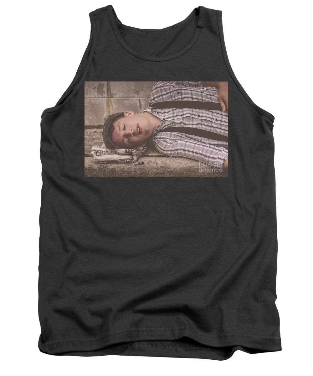 Bad News Tank Top featuring the photograph Dont Kill The Messenger by Jorgo Photography - Wall Art Gallery